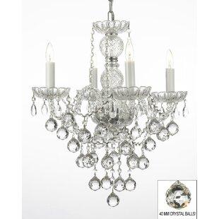 House of Hampton Kiernan 4-Light Candle S..