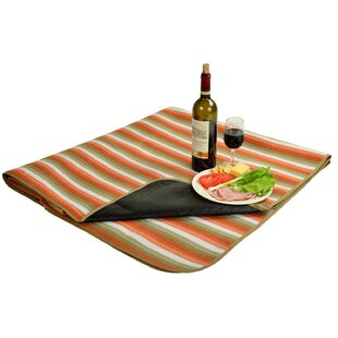 Outdoor Picnic Blanket with Water Resistant Backing