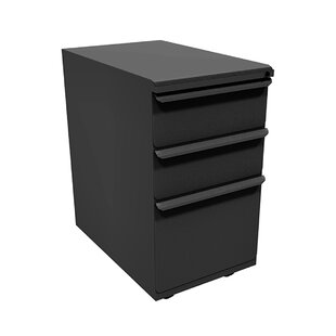 Marvel Office Furniture Zapf 3-Drawer Mobile Pedestal File Cabinet