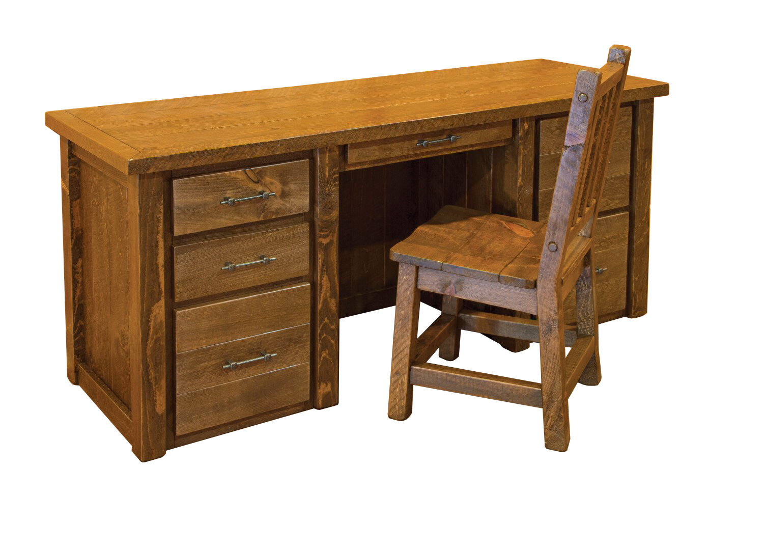 Millwood Pines Goettingen Executive Desk Wayfair