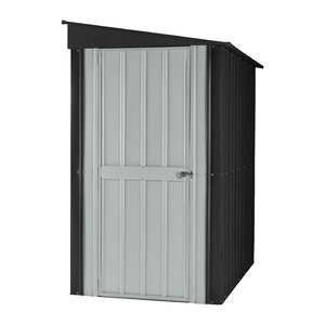 3 ft. 9 in. W x 5 ft. 7 in. D Metal Lean-To Tool Shed