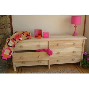 Lonato 6 Drawer Double Dresser by Loon Peak