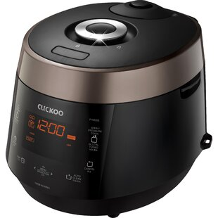 Cuckoo Electronics 10-Cup Electric Heating Pressure Rice Cooker