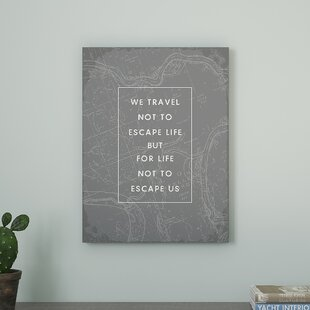Wall Art Quotes Travel Quotes Wall Art | Wayfair Wall Art Quotes