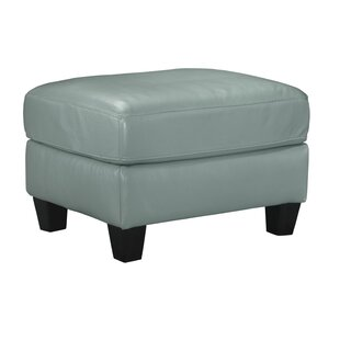 Stouffer Leather Ottoman