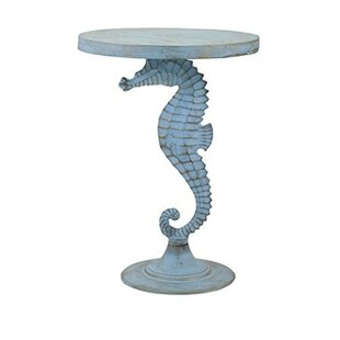 Windsor Sea Horse End Table by Woodland Imports