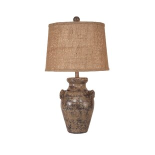 Haigh Crock with Handles 27 Table Lamp