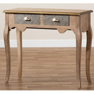 Fruithurst 3465 Solid Wood Console Table by Ophelia amp Co