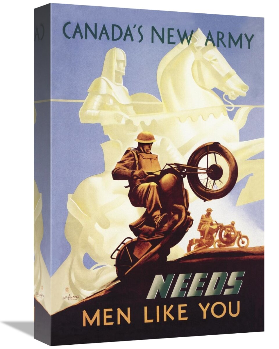 East Urban Home Wwi Canada S New Army Men Like You