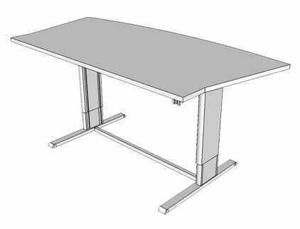 Populas W Infinity Height Adjustable Training Table Reviews - Adjustable training table