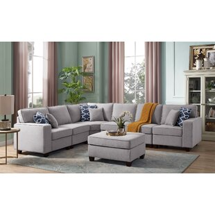 Mendenhall Reversible Modular Sectional with Ottoman