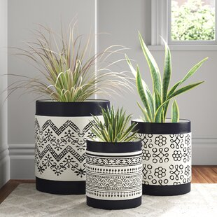 3 Pot Planters You Ll Love In 2021 Wayfair