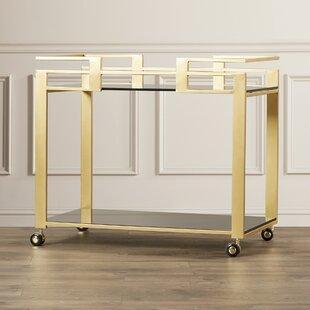 Ikon Avondale Bar Cart by Sunpan Modern