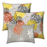 Gabrielson Citrus Blossums Indoor / Outdoor Pillow Cover