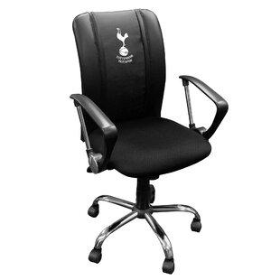 Tottenham Hotspur Primary Logo Curve Task Chair