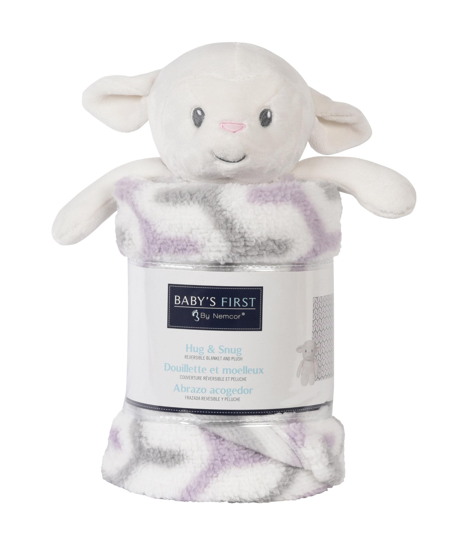 Isabelle Max Brewton Blanket And Lamb Plush Toy Wayfair