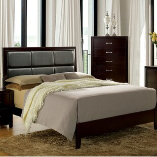 Kinzie Upholstered Panel Bed by Wrought Studio