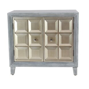 Alvarenga Modern Wood 2 Door Accent Cabinet by House of Hampton