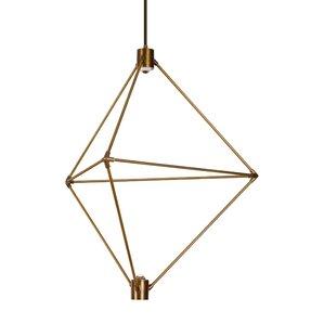 Candora 2-Light LED Geometric Pendant