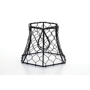 Searching for Chicken Wire 5.65 Metal Lamp Shade By August Grove