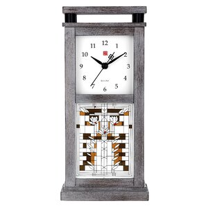 Waterlillys Mantel Clock