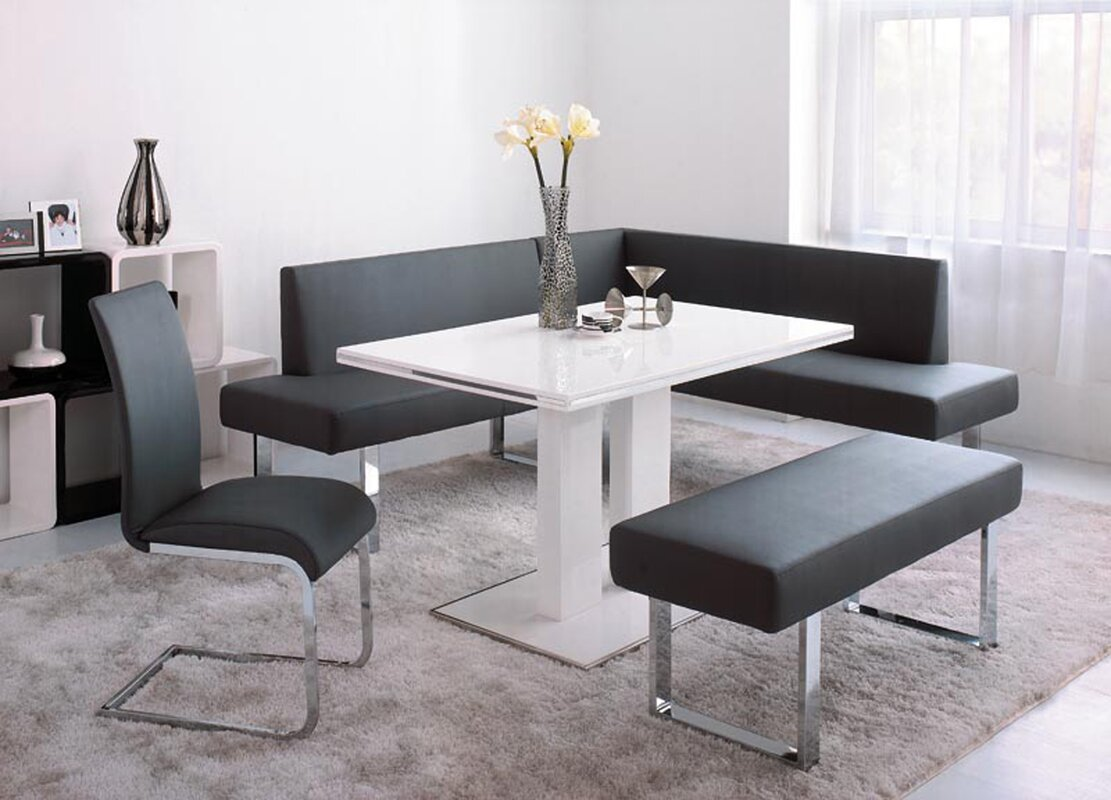 Bryner 4 Piece Dining Set & Reviews | AllModern