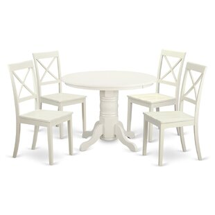 Sherlock 5 Piece Dining Set August Grove