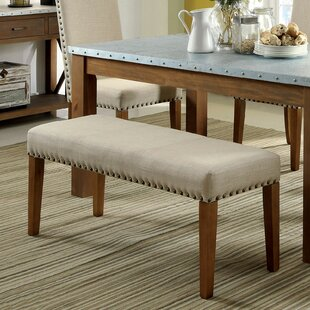 Ahsan Upholstered Bench by Gracie Oaks