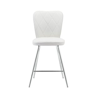 Orren Ellis Sanor Back Design Bar Stool (..