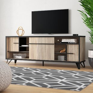 Compare prices Carmagrim TV Stand for TVs up to 70 by Ivy Bronx Reviews (2019) & Buyer's Guide