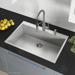 Pax Zero Radius Topmount Series 33 X 22 Drop In Kitchen Sink