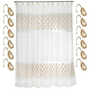 Comparison Seraphina Polyester Shower Curtain Set By Sweet Home Collection