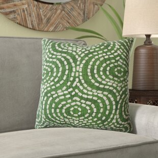Lang Geometric Cotton Pillow