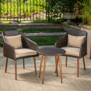 Owen 3 Piece Conversation Set with Cushions