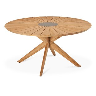 Mukai Teak Dining Table By Sol 72 Outdoor