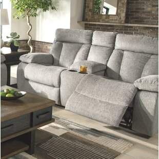 Evelina Reclining Loveseat with Console