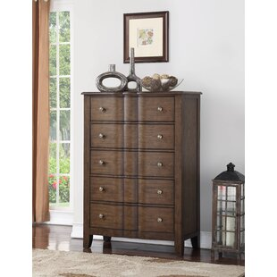 Darby Home Co Rosemarie 5 Drawer Chest