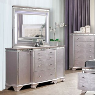 Askerby 4 Double Dresser with Mirror