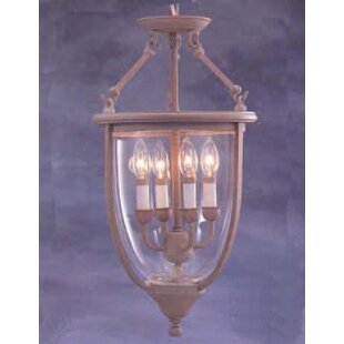 Asheville 4-Light Urn Pendant by Classic Lighting