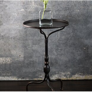 Kibler Metal End Table by Williston Forge