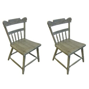 Compare Kajal Solid Wood Dining Chair (Set of 2) by Gracie Oaks Reviews (2019) & Buyer's Guide