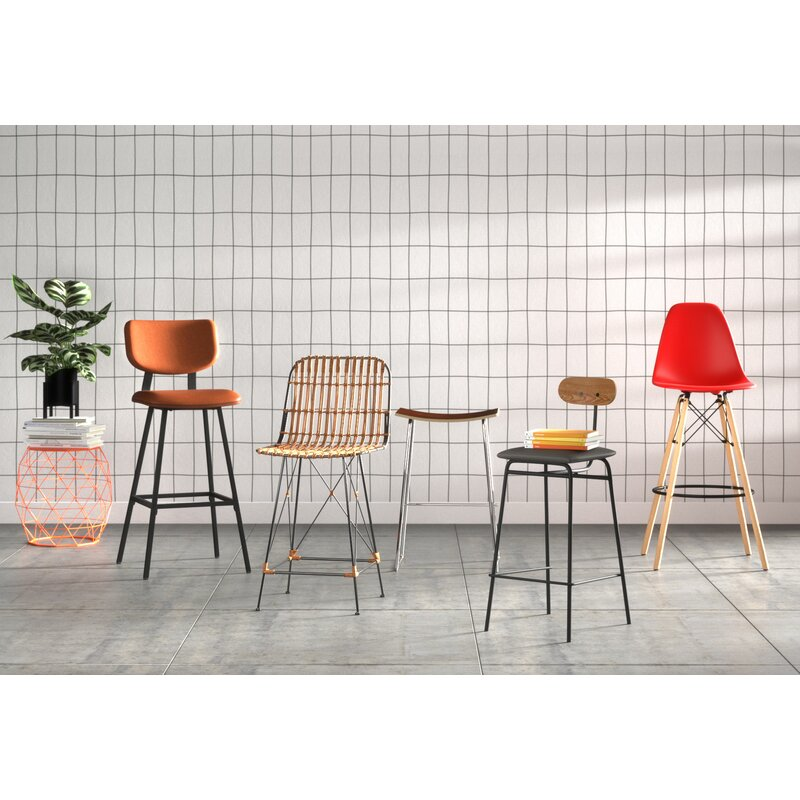 Cool Arispe Bar Counter Stool Theyellowbook Wood Chair Design Ideas Theyellowbookinfo