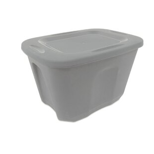10 Gallon Plastic Storage Tote (Set Of 5)