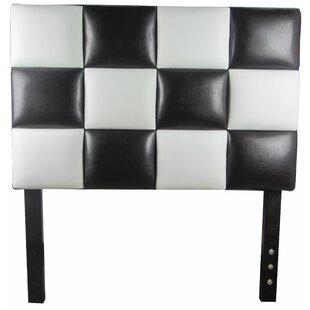 Modern Twin Upholstered Panel Headboard