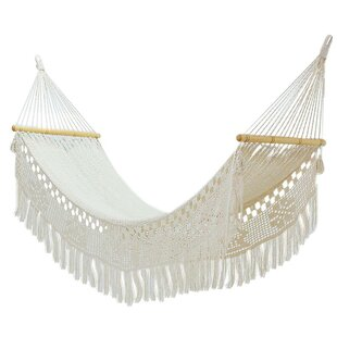 Nickels Fresh Comfort Cotton Rope Camping Hammock