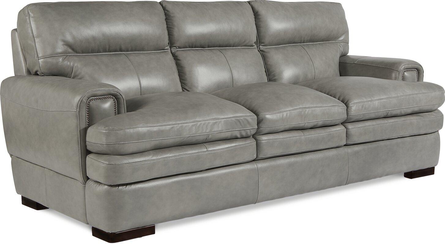 Incroyable Jake Genuine Leather Sofa