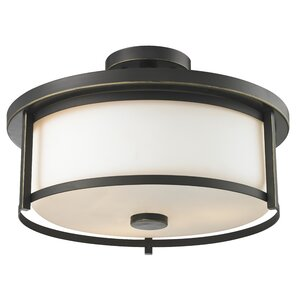 Savannah 3-Light Semi Flush Mount