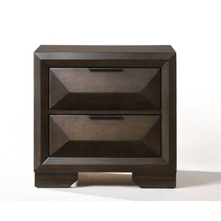 Lancelot 2 Drawer Nightstand by Brayden Studio