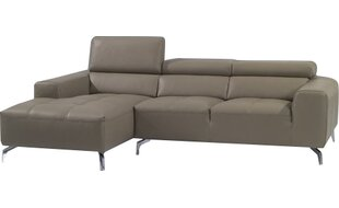 Alden Leather Sectional by Orren Ellis Coupon
