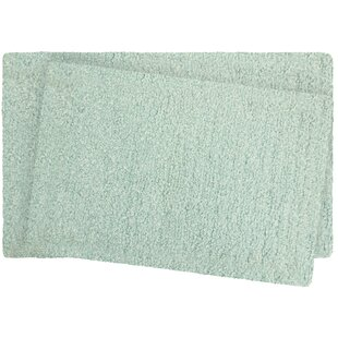 Murry Lurex 2 Piece Bath Rug Set